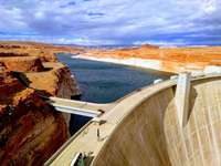 Glen Canyon Dam, Powell-tó,