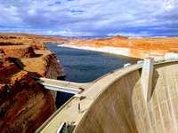 Glen Canyon Dam, Λίμνη Πάουελ,