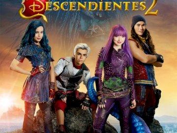 Descendants2 - Puzzle pour les fans de descendants