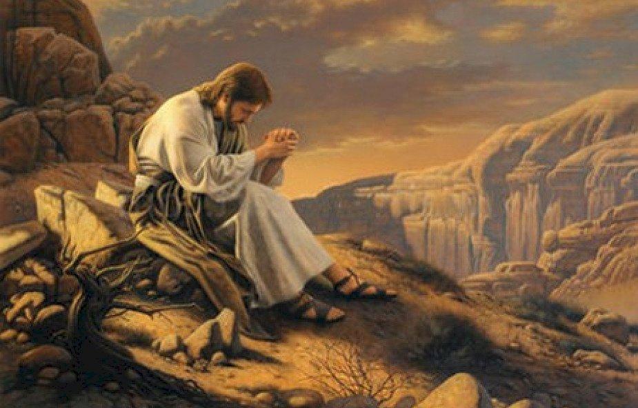 Jesus in der Wüste - Die Rätsel beziehen sich auf die Versuchung Jesu in der Wüste. Geliehen (5×5)