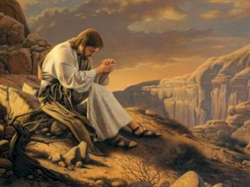 Jesus in the desert - The puzzles relate to the temptation of Jesus in the desert. Lent
