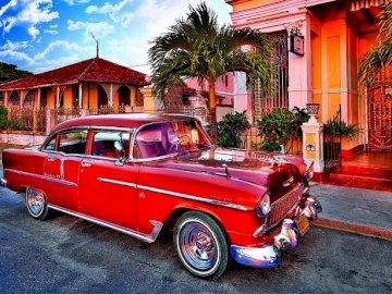 Cuba. Havana. - Landscape puzzle.