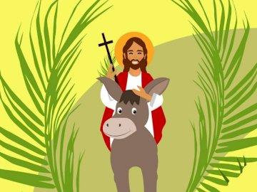 Domenica delle Palme BAMBINI - Gesù che entra a Gerusalemme