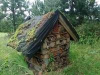 Maison - mangeoire à insectes