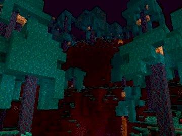 Minecraft 1 16 der Wald des Todes - Minecraft Nether Uprade wird bald nach Polen kommen