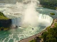 Niagara Falls - High angle photography of falls. Brisbane, Australia