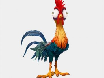 hei hei chicken - hei hei is a stupid chicken from a fairy tale