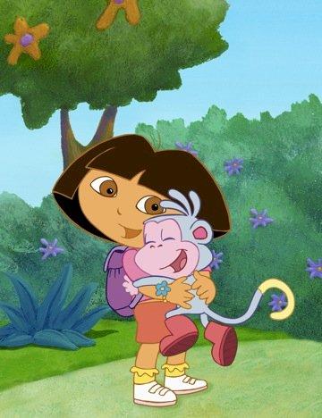 Dora odkrywca - Jest to łamigłówka odpowiednia dla niemowląt (3×3)