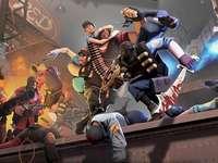 Team Fortess 2 - Oto Puzzle Team Fortress