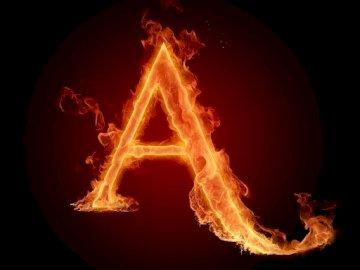 e la chiave delle lettere - e questa è la lettera dell'alfabeto