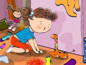 Sprzątanie zabawek - Posprzątaj zabawki w swoim pokoju