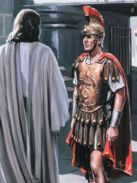 Római százados - Jézus a századosával beszélt (5×5)