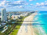 Miami beaches - Landscape, water, palm trees, holidays and the sun