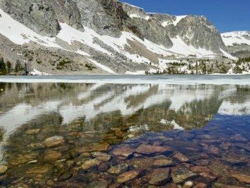 Mary Lake, Estados Unidos - St. Mary Lake, Estados Unidos. El segundo lago más grande del Parque Nacional Glacier, Montana, Con