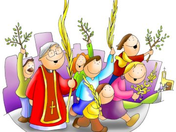 niedziela palmowa - Do wykorzystania na lekcjach religii
