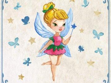 Fairy - Fairy tale fairy from Disney stories :)