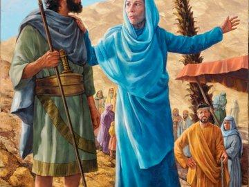 Deborah Prophetess - Livre des juges - la prophétesse de Deborah