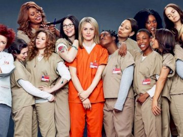 Orange is the new black - Puzzle Orange is the new black, serial, bohaterki