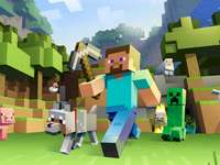 Minecraft easy - a game that improves attention