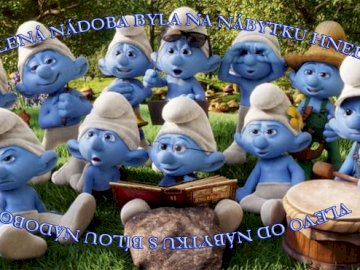 Smurf puzzle - Complete the puzzle and you will get one clue for Einstein riddle. :-)