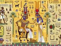 Scena egizia