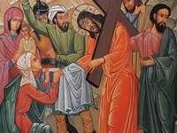 Isus poartă crucea