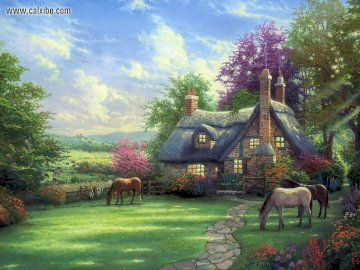rural landscape - picture with a rural landscape