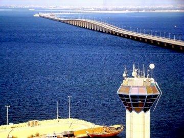 Saudi Arabia - bridge connecting Bahrain with Saudi Arabia