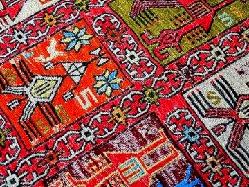 Persisk matta - Persisk matta, kilim, multicolor