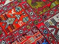 Alfombra persa - Alfombra persa, kilim, multicolor