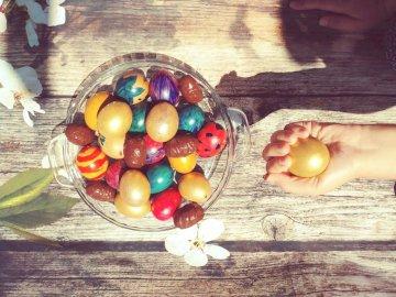 Oeufs de Pâques - Pâques, oeufs, oeufs de Pâques