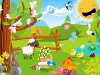 Pasqua - Organizza i puzzle di Pasqua