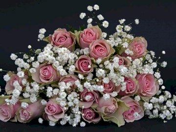 bukiet róz - imieninowy bukiet z róż