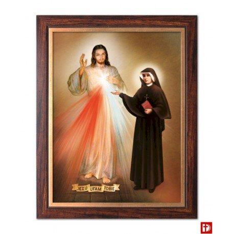 Barmhartige Jezus - Barmhartige Jezus. Afbeelding van Merciful Jesus (3×4)