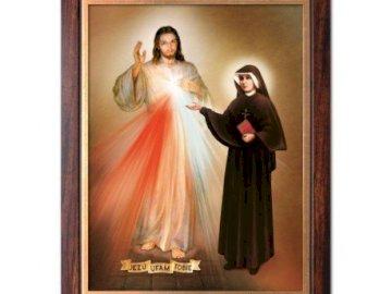 Jezus Miłosierny - Obraz Jezusa Miłosiernego