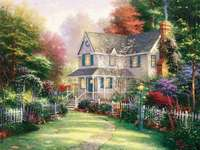maison avec volets