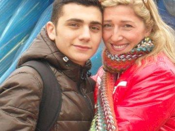 IMMA ȘI ENZO - fericită mamă și fiu