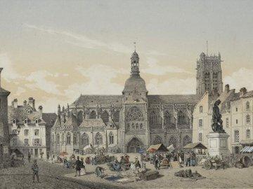 ville de Dieppe - place de commerces place du marché