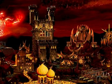 Inferno HOMM3 - Not very popular but very diabolical castle
