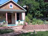 house with a garden - small house with a garden