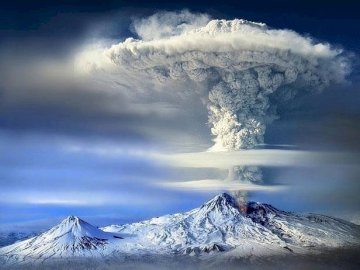Ararat in Turkey - Ararat, volcano eruption