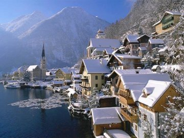 Hallstatt - Hallstatt in winter, Austria