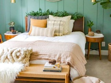 Mint bedroom - Bedroom decor, mint theme
