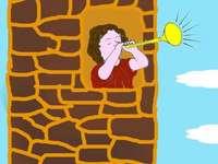 """A chamada de corneta foi interrompida - Quebra-cabeça para a lenda Chamada de corneta interrompida """""""