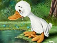 The ugly duckling - I created the puzzle to resemble the story of the Ugly Duckling.