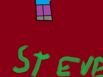 steve paint - is a picture created in free paint program