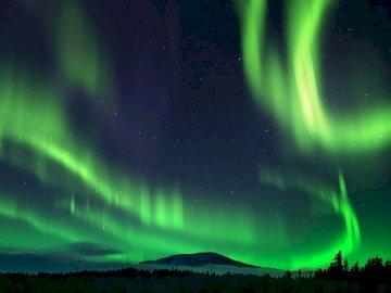 Aurora borealis . - Aurora borealis                  .