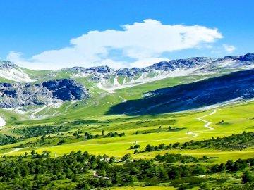 Krajobraz . - Krajobraz górski                       .
