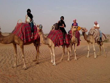 CAMEL RIDE - DESERT CAMEL RIDE