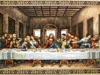 Ultima cină a lui Isus și a apostolilor săi